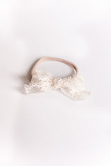 Lace Headband Bow