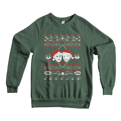 Limited Edition 2019 X33N & Lobro Ugly Holiday Sweatshirt