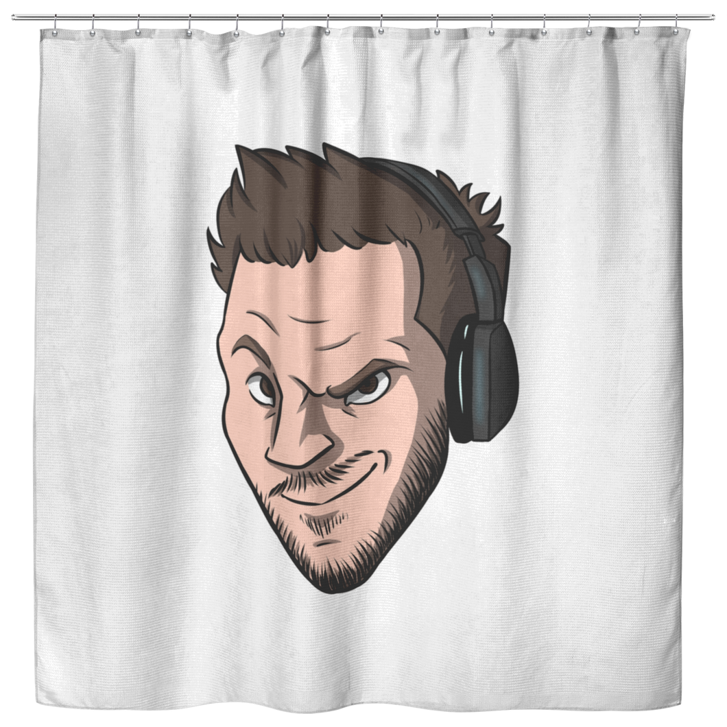 Shower Curtain - Lewd Emote