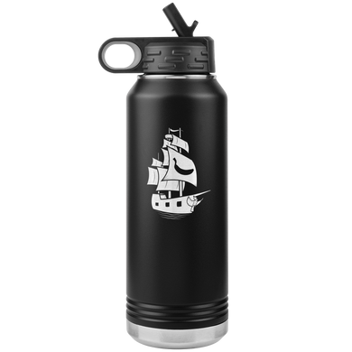 Banana Bugatti Special - Emblem 32oz Water Bottle
