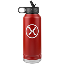 32oz Water Bottle - X Logo