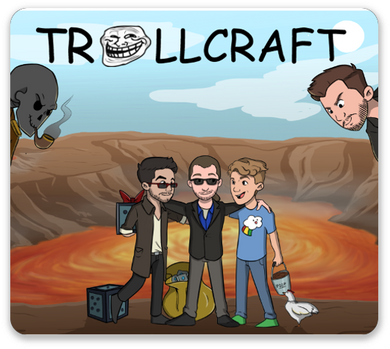 TrollCraft Mouse Pad