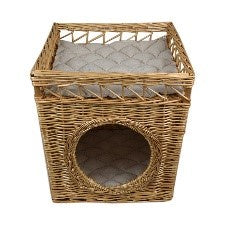 PEG Willow Pet Bed 42x40x46cm Natural