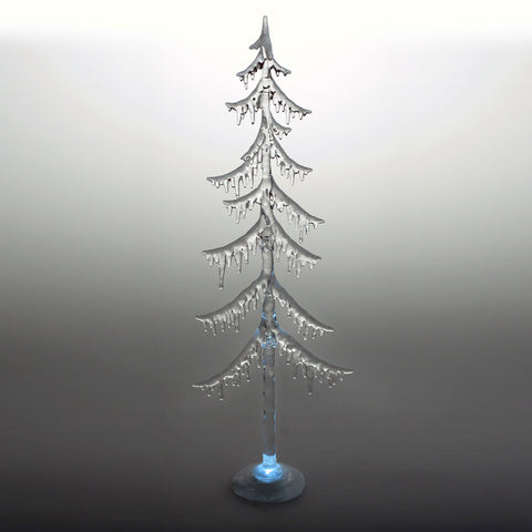 light-up icicle Christmas tree