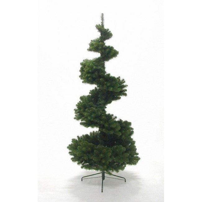 Hinged Spiral Pine Tree 2.28M