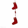 Shoes Garland with Red Felt Gingham 100cm