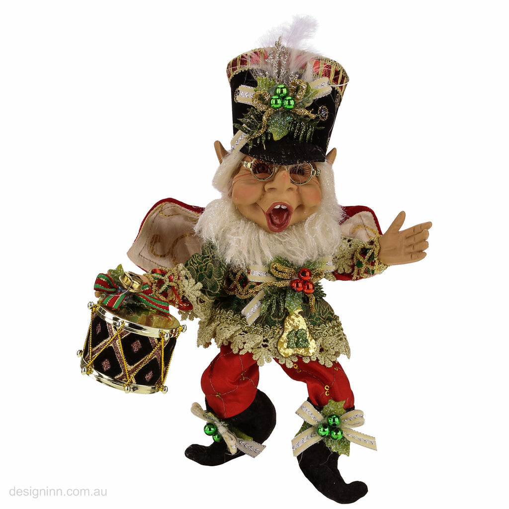Mark Roberts elf statue 12 Days of Christmas Drummer
