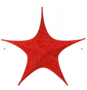 Red Star Decoration 40cm