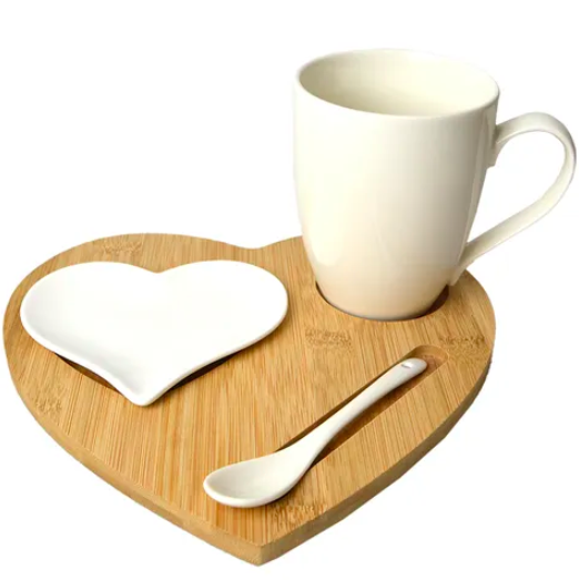 Amore Heart Tea for One