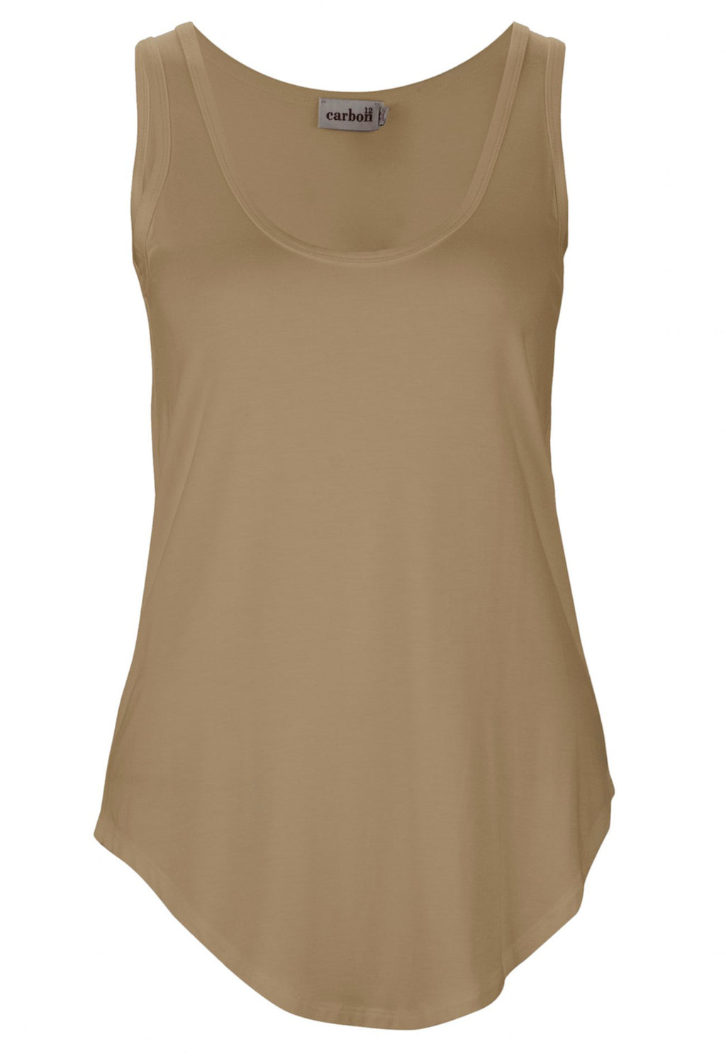 Carbon scoop tank- Khaki green