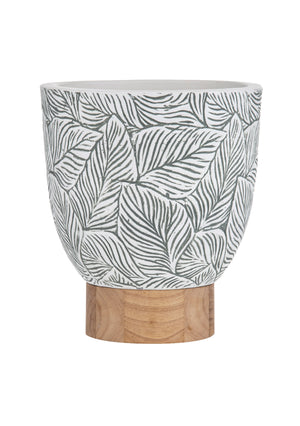 Evergreen Planter Pot 28x28x32cm Green