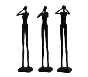 Dakar Resin Black Velvet Wise Women 3Ass