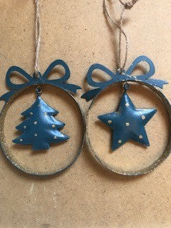 Star & Tree Bauble