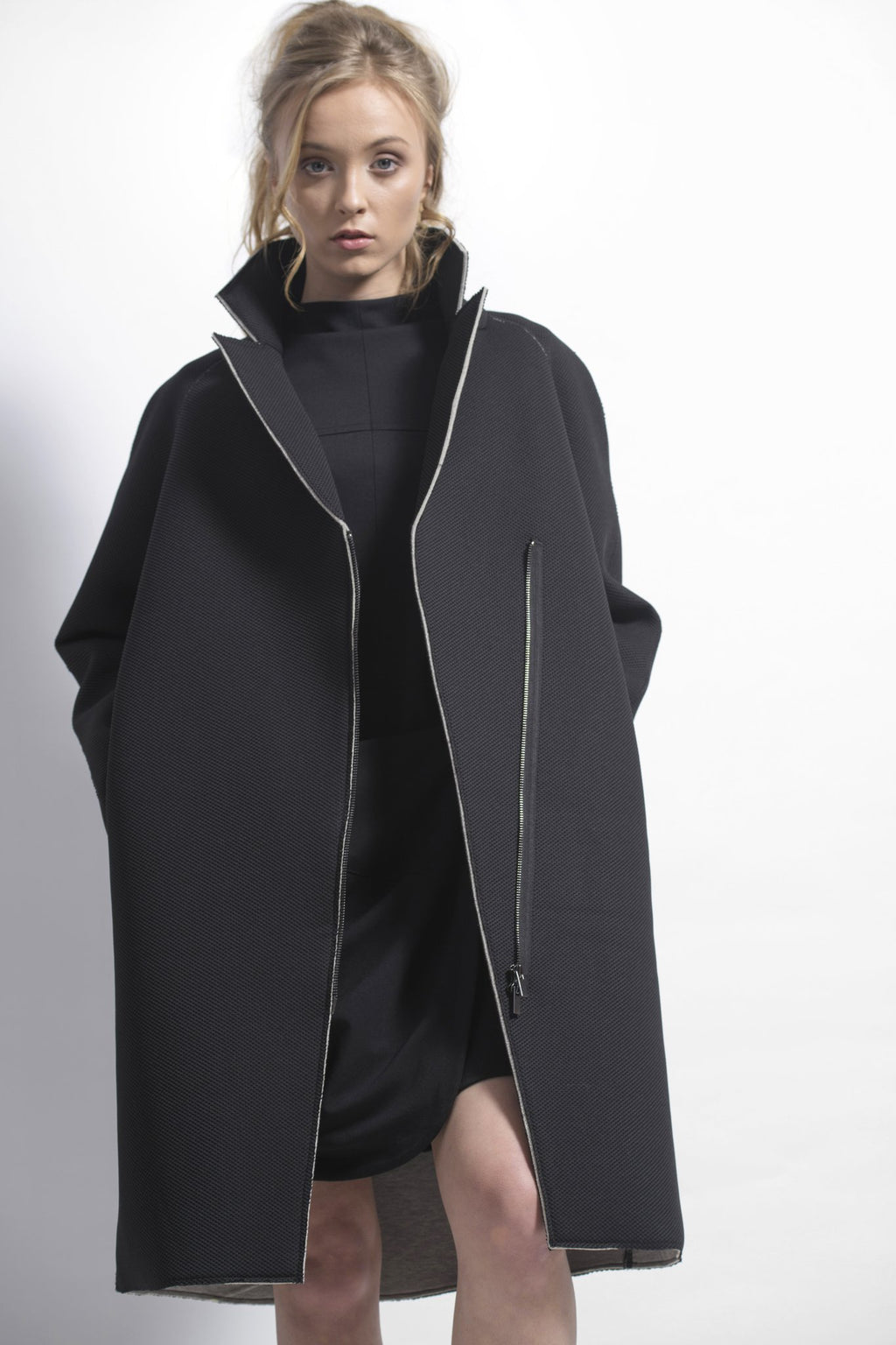 Dref by d sage coat black