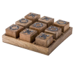 Noughts & Crosses Game 7.5x25cm