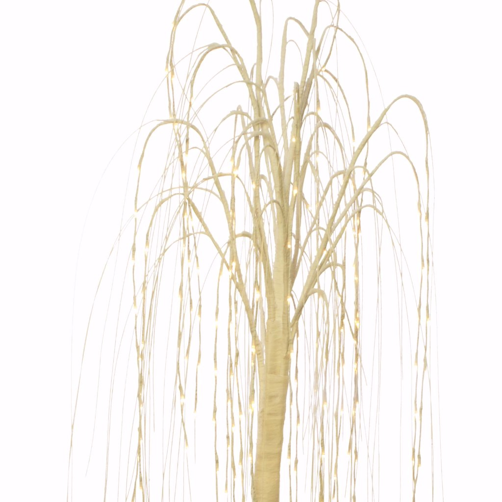 LED Weeping Willow Tree White 2m