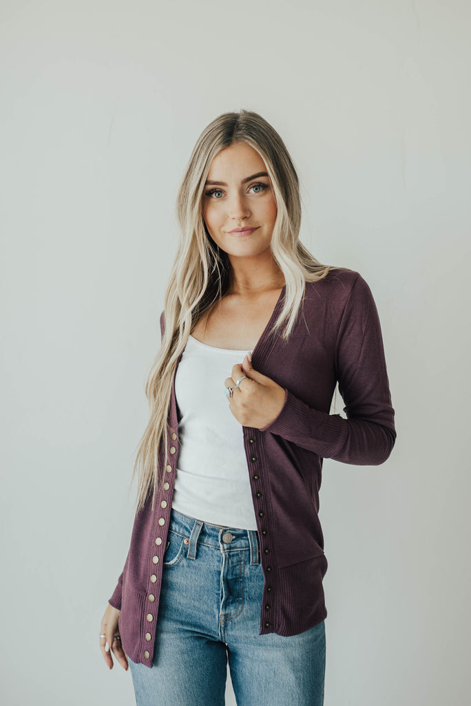 Fall Snap Cardigans