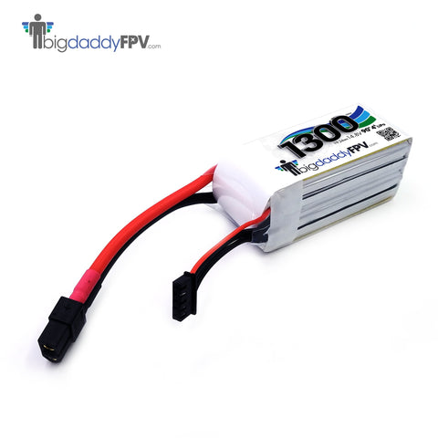 BIGDADDYFPV 1300MAH 4S 90C LIPO BATTERY PACK - 168 Energy