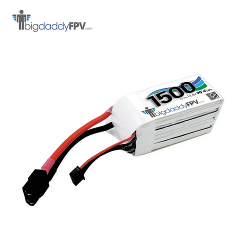 BIGDADDYFPV 1500MAH 4S 90C LIPO BATTERY PACK - 168 Energy