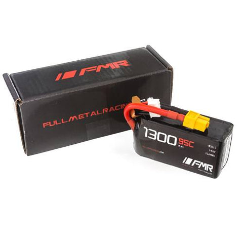 FMR 1300mAh 4s 95c Lipo Battery Pack - 168 Energy