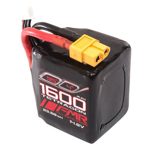 FMR 1600mAh 4s 95c TETRAGON Lipo Battery - 168 Energy