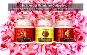 Dorothy Scents luxury scented soy candles for Chinese new year
