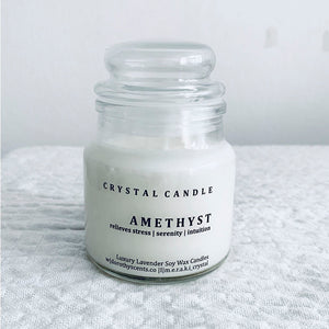 Amethyst | Lavender Soy Candle