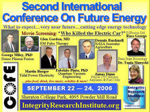 Zero Point Energy Advances in Europe, Dr T Ludwig  COFE2