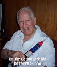Dr Jim Gerow using his PREMIER Jr 200
