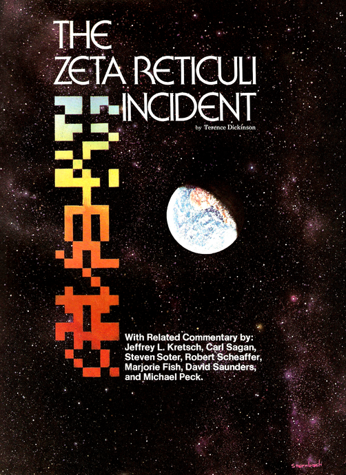 Zeta Reticuli Incident: The Star Map by the Hills.