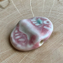 Porcelain Clay Ding Bead I
