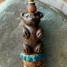 Rustic Bear Bead Set - 2