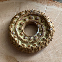 Mustard Seed Spiral Fossil Disc