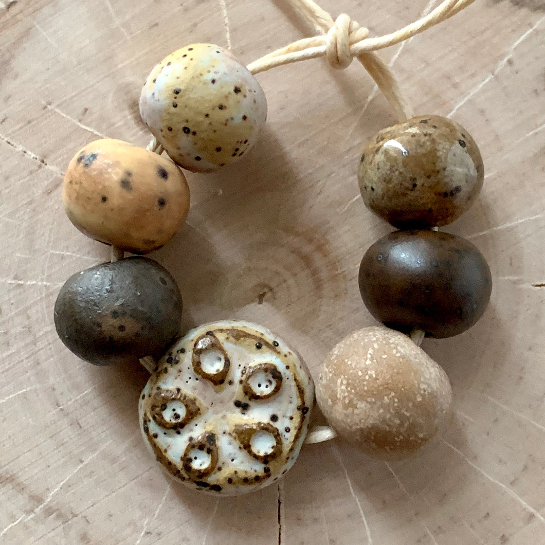 Earth Rustics Bead Set II