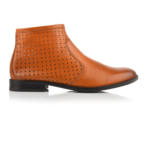 LW046 - Language Maya Women's Casual Brown Boots