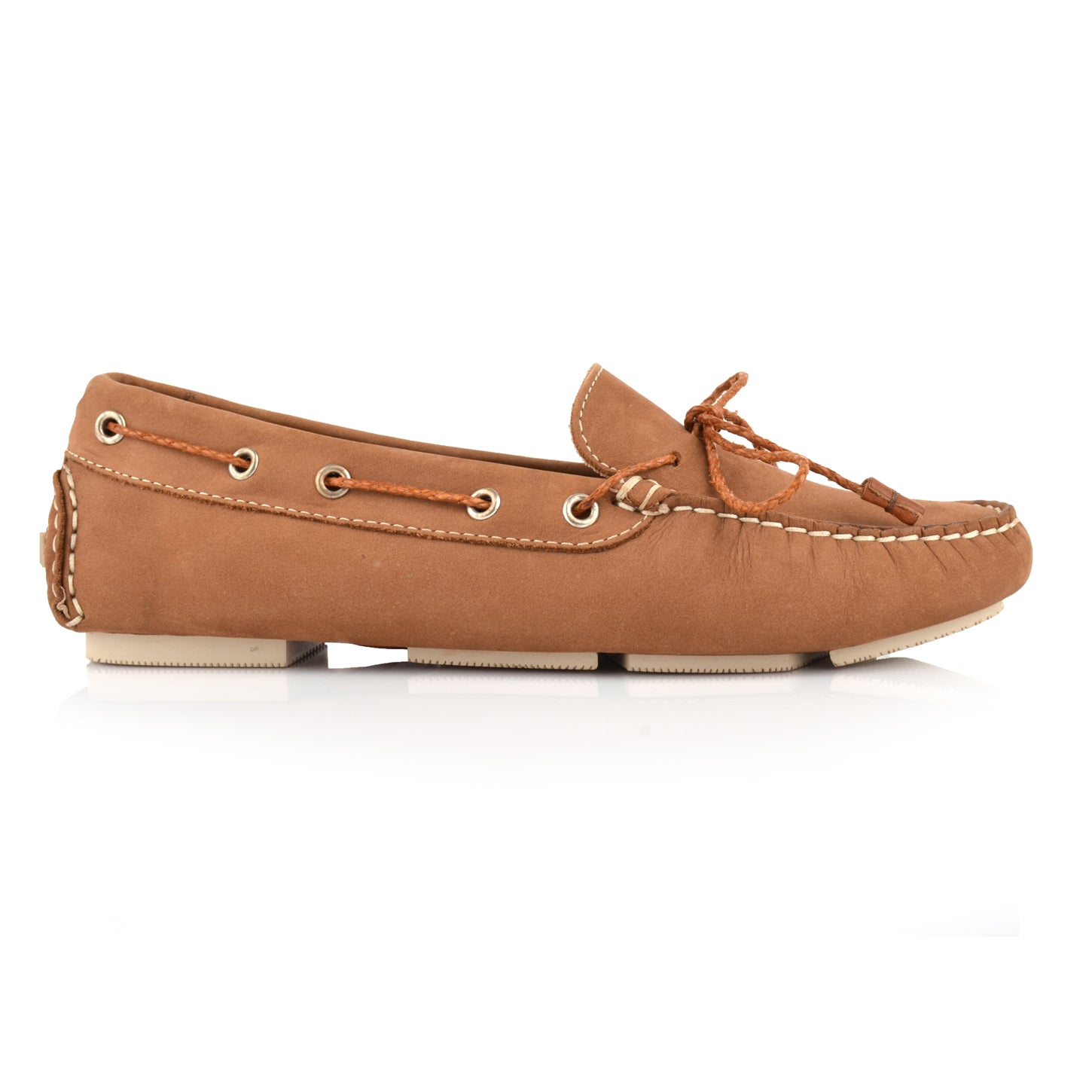 LW031 - Language Rome Women'S Casual Brown Drivers