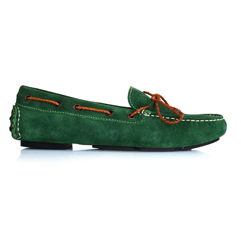 LW031 - Language Rome Women's Casual Green Drivers
