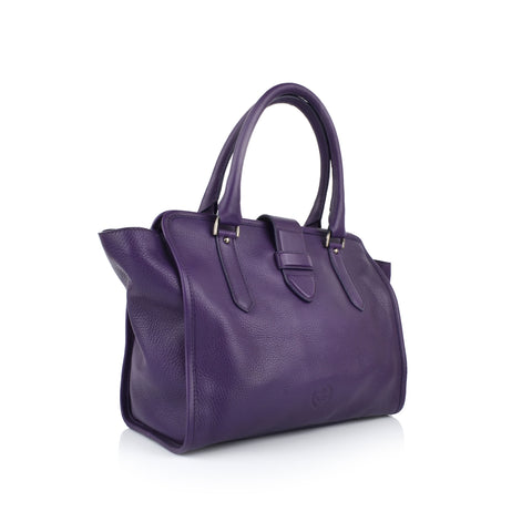 LG057 - Collezione Wella Women's Purple Tote Bag
