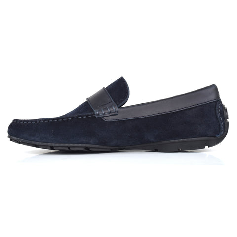 7037 - Language Vivo Men's Casual Navy Drivers