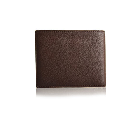 LG208B - Collezione Meo Men's Brown Wallet
