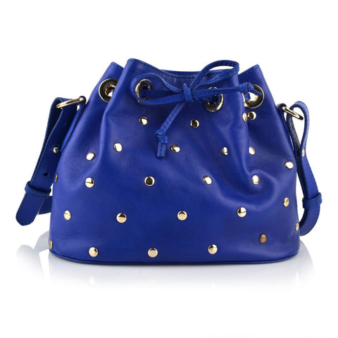 LG16015 - Collezione Cannes Women's Blue Handheld Bag
