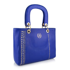 LG16017 - Collezione Caen Women's Blue Bucket Bag