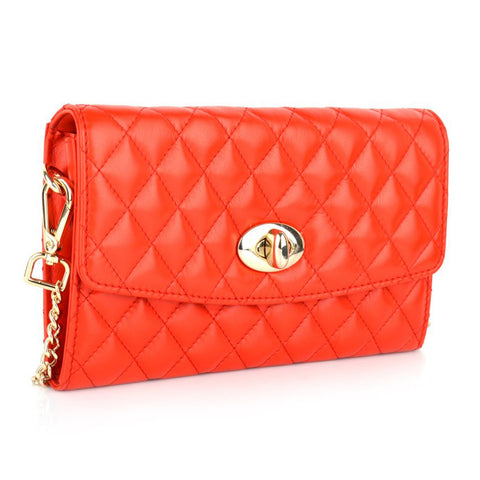 LG16020 - Collezione Nancy Women's Red Clutch Bag