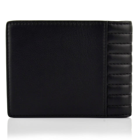 LG16024 - Collezione Atlanta Men's Black Wallet