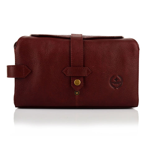 LG16038 - Collezione Seattle Men's Bordo Pouch
