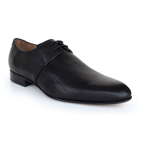 LM041 - Language Ochen Men's Formal Black Derby Shoes