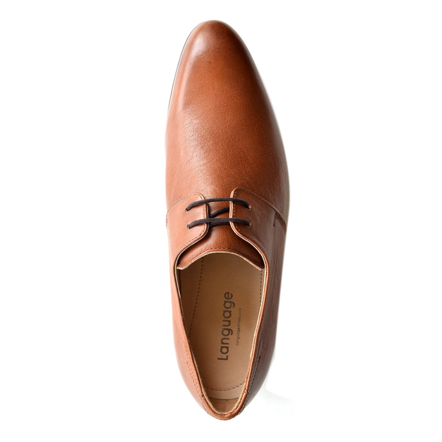 LM041 - Language Ochen Men's Formal Tan Derby Shoes