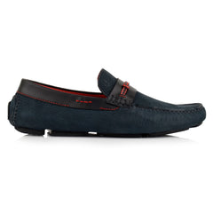LM062 - Language Chief Men's Casuals Dark Blue Drivers