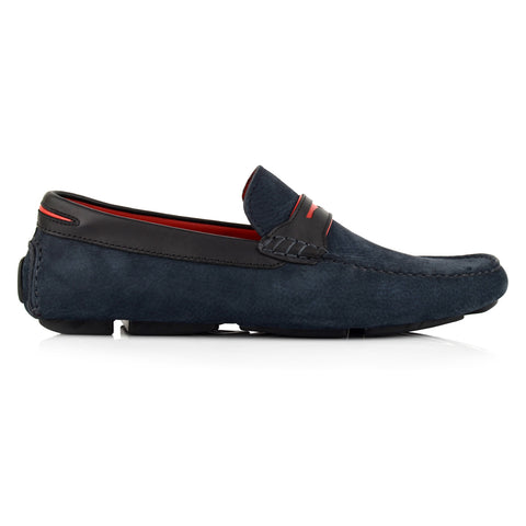 LM063 - Language Ace Men's Casuals Dark Blue Drivers