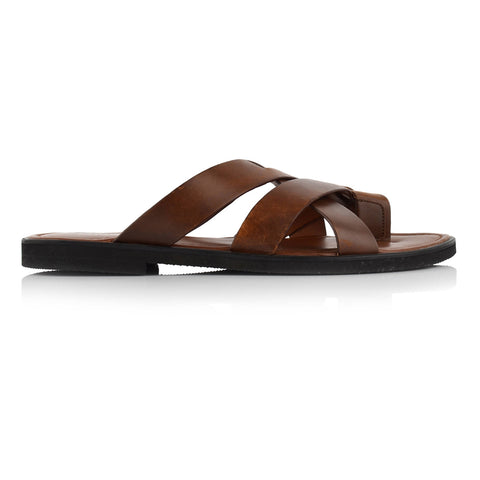 LM271 - Language Libero Men's Tan Slippers
